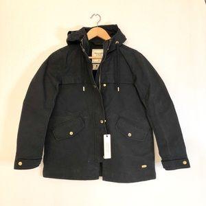 BNWT Abercrombie Structured Rain Jacket Size XS